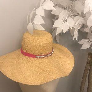 Juicy couture straw diamond hat 🌟🌟🌟